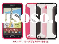 cell phone TPU+PC case for Samsung 2012i9220PC
