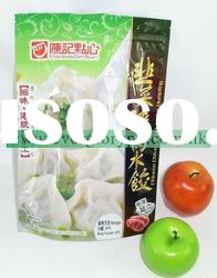 customized stand up food grade plastic bag with zipper