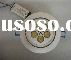 dimmable pure white high voltage 5w round led ceiling light