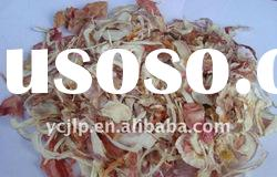 dried red onion slices
