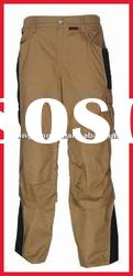 durable canvas pants with Knee pad