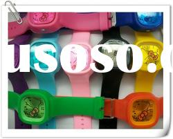 hello kitty silicone jelly watch. HOT SALE. ladies/ mens watch promotion watch