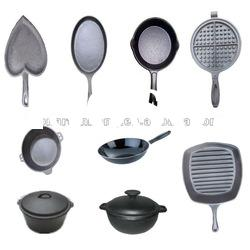 high quality cast iron non-stick grill frying pan