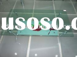 hot sale clear tempered glass coffee table