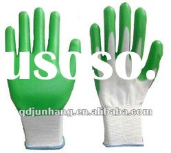 latex coated working safety gloves