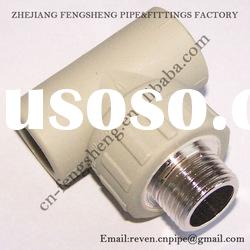 male thread tee -Ball-Valve-Fittings-for-PPR-Pipe(Plastic)