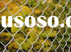 mild steel mesh pvc coated chain link fence price