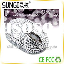 promotion gift crystal mouse
