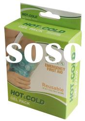 reusable hot/cold gel pack( reusable cold pack, reusable hot pack)