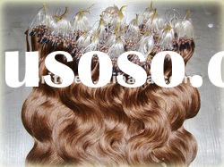 100% high quality Grade AAA micro bead hair extensions