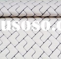 10% spandex and 90% polyester knitted jacquard mattress fabric