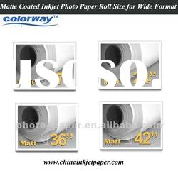 120gsm self adhesive matte coated paper