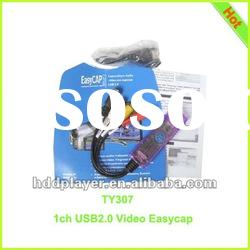 1 channel usb dvr,Exquisite fashion USB one channel video capture card,video compression card