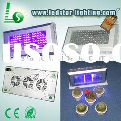 200W(119*1.4W) triband hydroponic led plant grow light in special effects