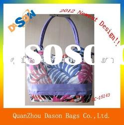2012 Best Beach Towel Bag With Mesh Pocket