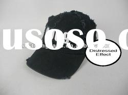 2012 New Style 100% Cotton 6 Panels Washed Sports Hats and Caps with Distressed Effect