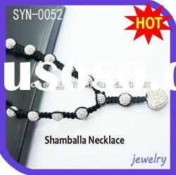 2012 Wholesale Handmade Shamballa Necklace Jewelry In China