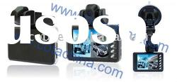 """2CH 1920*720 Portable Vehicle DVR Camera + 120 Wide Angle + 2.8"""" TFT LCD Screen CT-C166"""