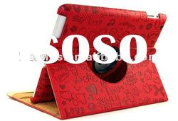 360 Rotating Magnetic Leather Case Smart cover for iPad