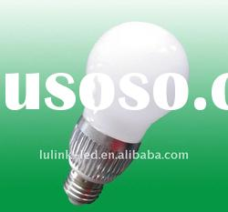 3W E27 Screw Warm White LED Light Bulb