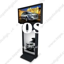 42 Inch Dual-screen LCD Digital Signage For Indoor ( 42'' + 42'' )