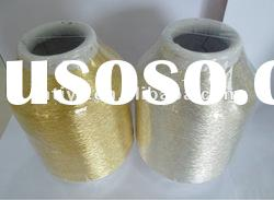 600D pure silver pure gold embroidery yarn