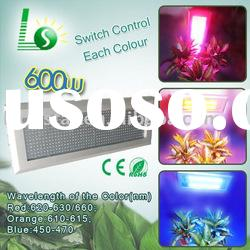 600W(576*1W) triband hydroponic led plant grow light in special effects