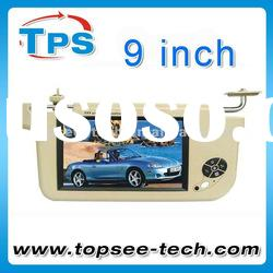 "Best selling 9"" lcd sunvisor monitor with touch key JMD-S901M"