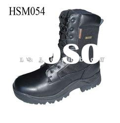 British hot selling anti-moist military warriors army boots black
