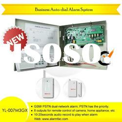 Business GSM+PSTN alarm security system/wireless gsm safe home alarm