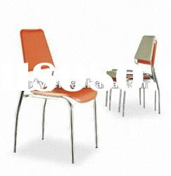 CC-106 modern metal frame dining room chair