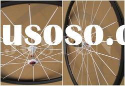 Campagnolo + aero spoke Carbon wheels tubular 24mm