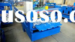 Colored steel roof panel roll forming machine XF30-205-820