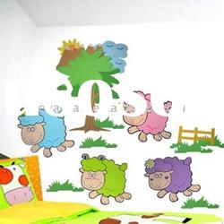 EVA Kids Removable Wall Stickers