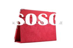 Fashionable leather case for ipad2 3