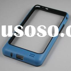 For Samsung Galaxy S2 Bumper Cover OEM(Sky Blue/Black)
