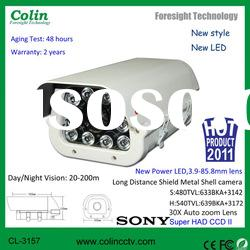 God Supplier hot sell White Light Camera have 700 TVL and sony effio CCD