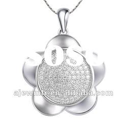 High quality 925 sterling silver fashion jewelry pendant