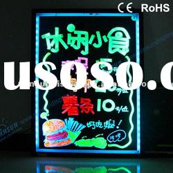 High quality Full RGB led fluorescent writing board