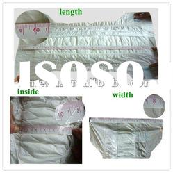 High quality of baby nappies, mixed sizes baby disposable nappy