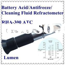Hot Sale! Portable Hand-held Battery Acid/Antifreeze/Cleaning Fluid Refractometer RHA-300 ATC