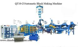 Hot! concrete brick making machine (QT10-25)