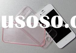 Hot sale Transparent PC protective mobile phone case for iphone 4gs