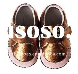 Hot selling leather baby Shoes 2011 latest fall styles