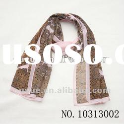 Hot ! wholesale fashion scarf ladies'scarves chiffon shawl