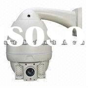IR High-speed Dome Camera with IP66 Waterproof Level and LED Array Technology, 22X Zoom