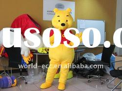 Lovely Winnie the Pooh Bear Cartoon Mascot Costume