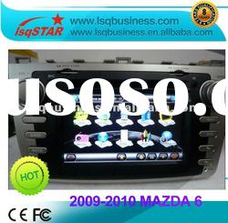 NEW Mazda 6 car gps navigation with dvd player, in black panel & hot selling