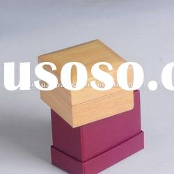 Natural painting wooden jewelry box