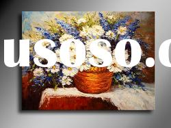 New High Quality Hot Selling Beautiful Decoration Palette Knife Flower Oil Painting